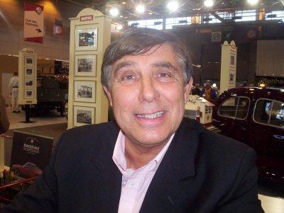 MA RENCONTRE AVEC JP.FOUCAULT AU SALON RETROMOBILE DE PARIS