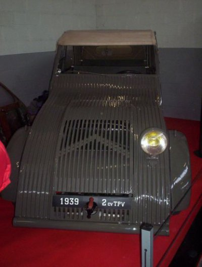 PROTOTYPE : TPV DE 1939 ANCETRE DE LA 2 CV
