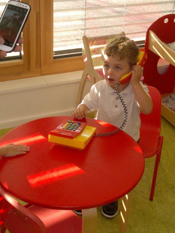dylan a son premier jour d'école