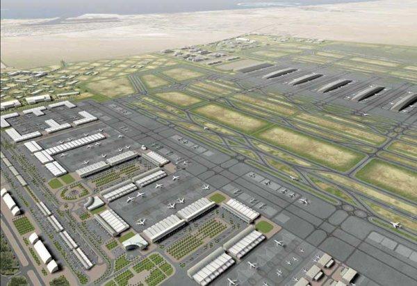 le plus grand aeroport du monde record du monde. Black Bedroom Furniture Sets. Home Design Ideas