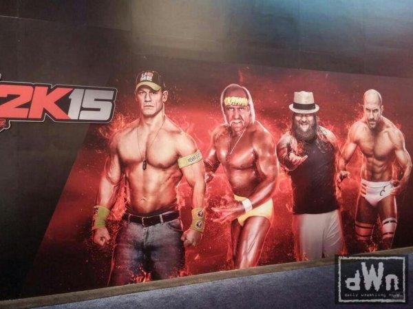 Premiers noms et Poster de WWE 2K15