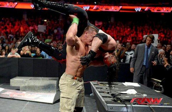 Résultats WWE RAW 16.06.2014