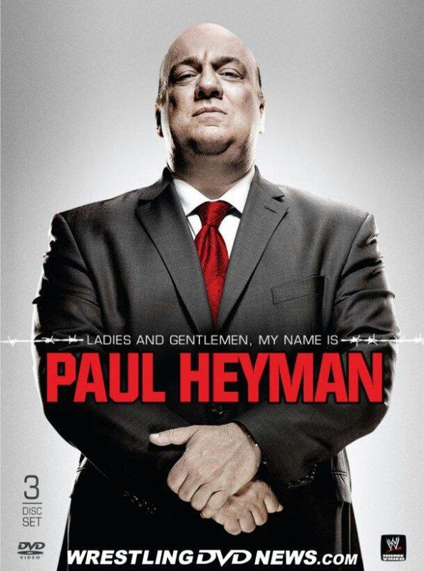 Cover du Blu-Ray / DVD de Paul Heyman