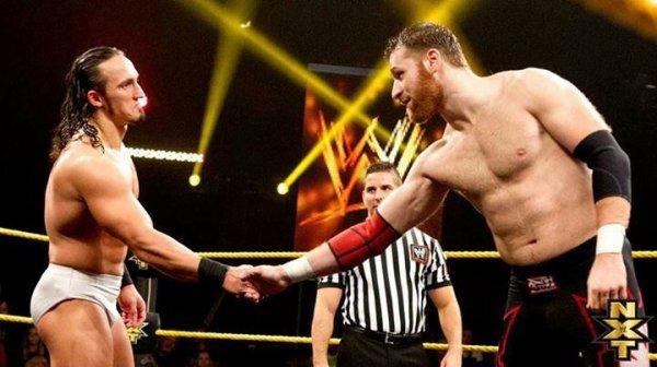 Sami Zayn vs. Adrian Neville au Japon