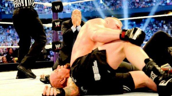 Comment Brock Lesnar a-t-il reagi à la fin de la Streak ?