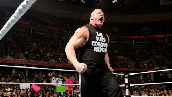 Gros problème pour Brock Lesnar en tant que WWE World Champion ?