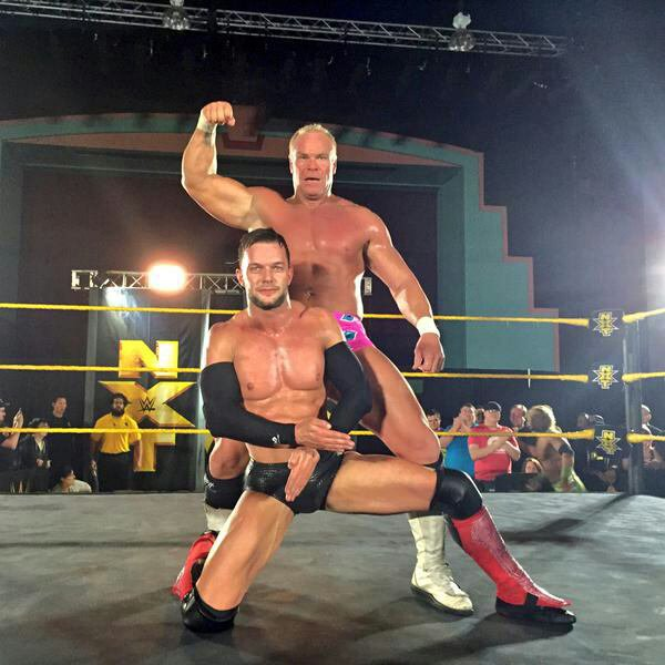Finn Balor en équipe avec une légende à NXT