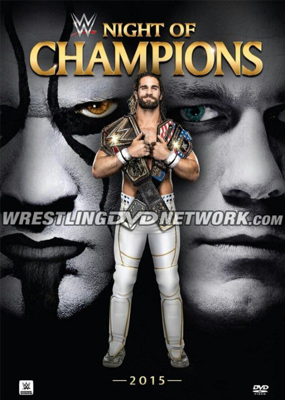 COVER DVD/Blu-Ray de WWE Night Of Champions