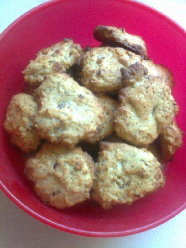 mes 1ers cookies a la noisette