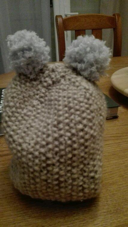 Et un petit bonnet de plus pourun petit aaron