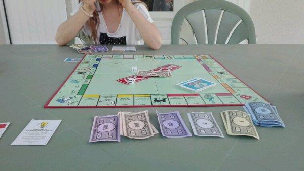 Monopoly dehors....cest cool