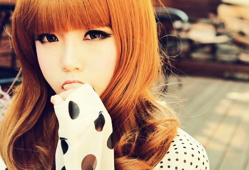 korean girl ♠
