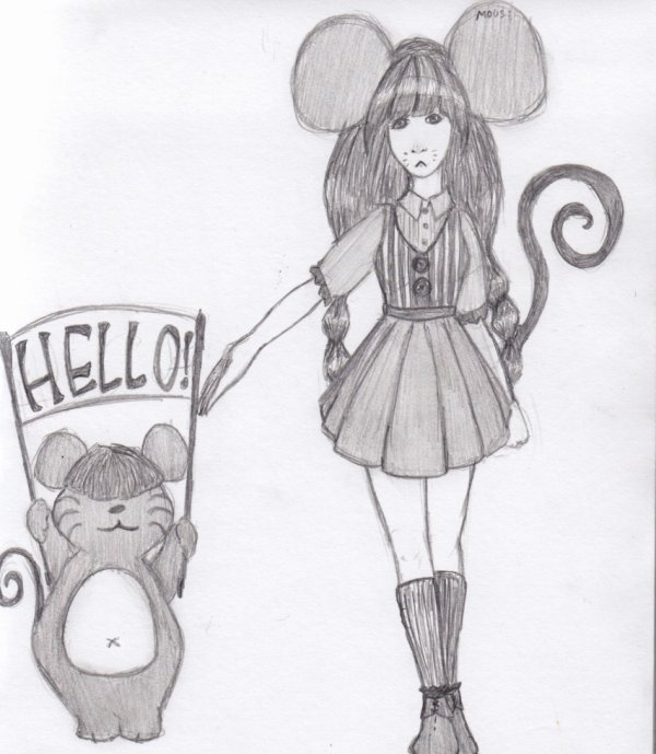 - Hello from a little Mouse