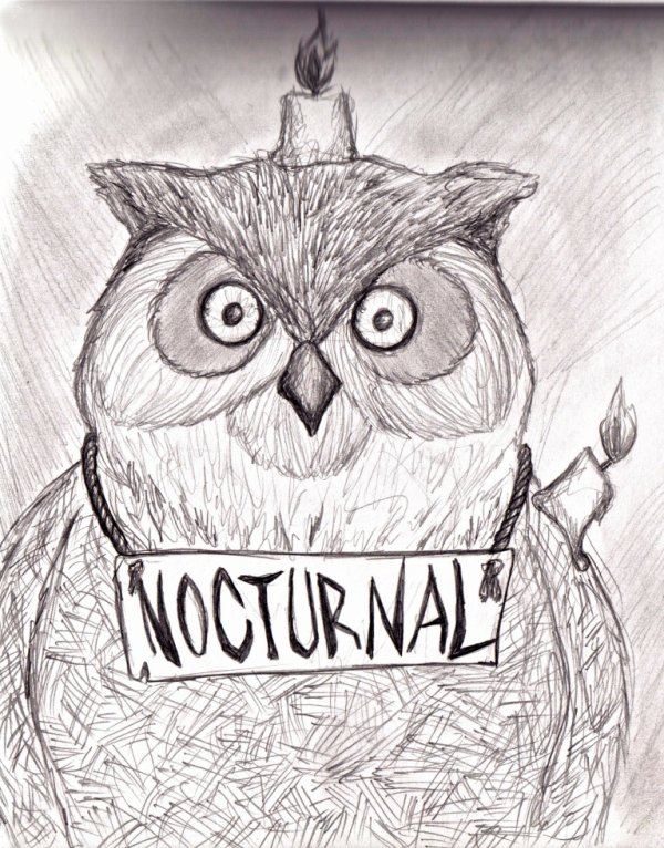- Nocturnal