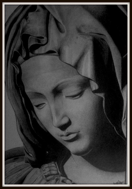 Pietà - détail