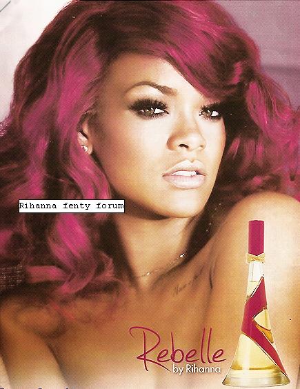 Nouvelle Photo Promotionelle Du nouveau Parfum Rebelle Fleur de Rihanna