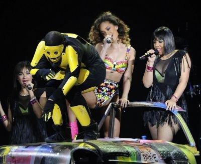 Rihanna live Madrid, Espagne le 15/12/11
