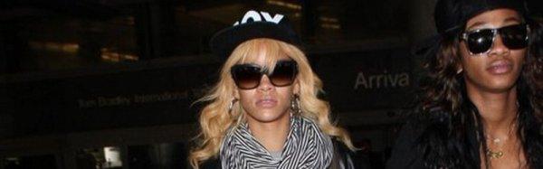 Rihanna retour à Los Angeles le 01.03.12