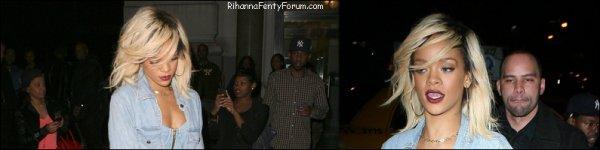 Rihanna se rend dans un club à New York 12/03/12