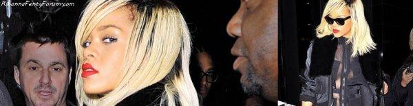 Rihanna quitte son hôtel à New York 17/03/12