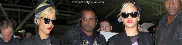 "Rihanna arrive à l'aéroport ""JFK"" à New York 18/03/12"