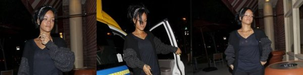 "Rihanna achète un café à ""Coffee Bean"" Los Angeles 04/06/12"