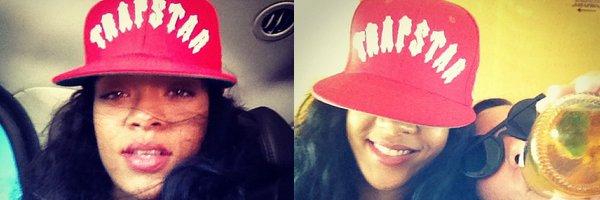 Instragran de Rihanna