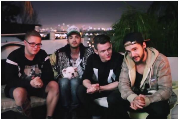 J'ai failli confondre Bill et Tom O_O J'adore comment Georg regarde Tom :p
