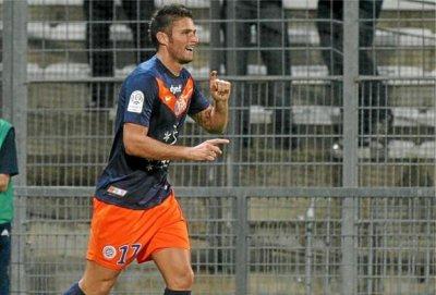 Montpellier : Arsenal surveille Giroud