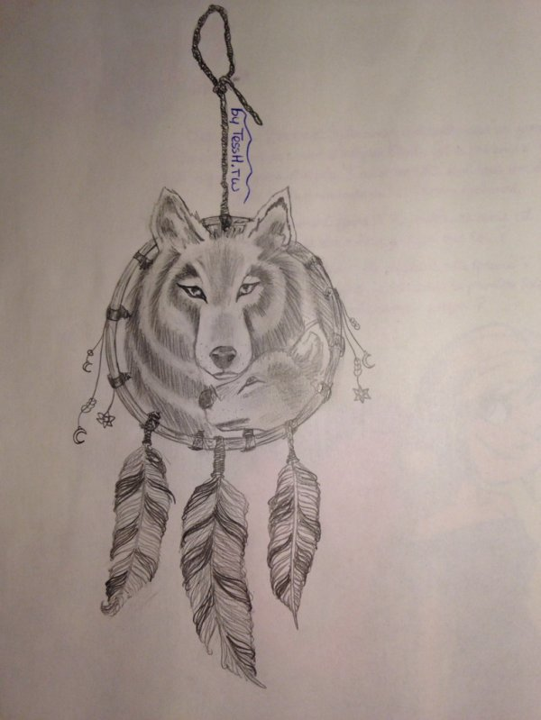 """The Silver Wolf's Mind"".   ( 1er dessin)       Et.            ""Dreams or Reality...""      ( 2eme dessin )"
