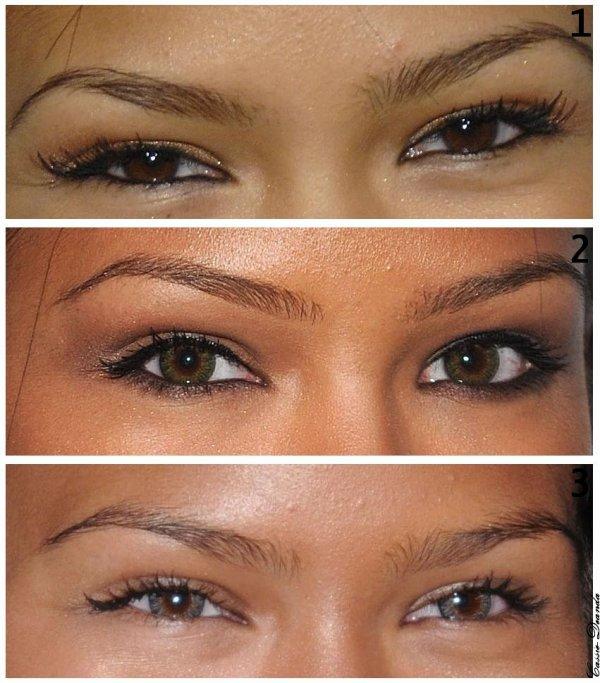Alors vous l'a préférez comment avec ses yeux naturels ? Ses lentilles vertes ou ses lentilles bleus ? En tous cas une chose est sur Cassie préfère les vertes :D Moi je préfère évidemment ses yeux naturels, les lentilles c'est beau mais seulement de loin :P