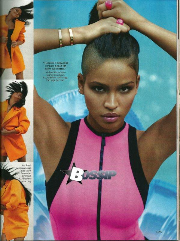 Cassie dans le numéro de Décembre du magazine InStyle !