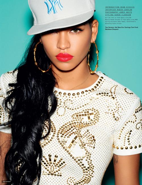 Cassie pour I-D magazine  <3