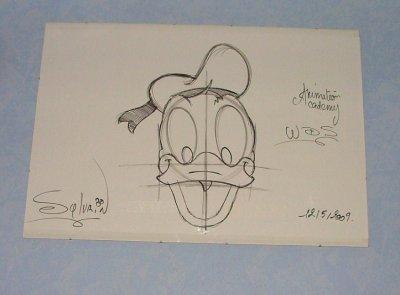 cour de dessin au walt disney studio - Dessin Walt Disney