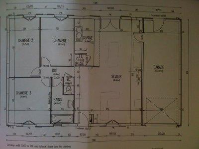 HD wallpapers plan maison plain pied castor www ...