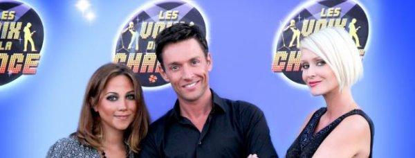 Tatiana-Laurens et la chanteuse Leslie dans le jury d'un concours sur NRJ 12