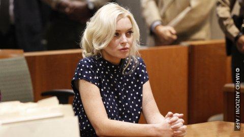 Lindsay Lohan : 4h30 en prison au lieu de 30 jours !