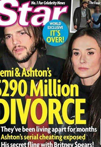 Ashton Kutcher et Demi Moore: C'est officiel, ils divorcent !