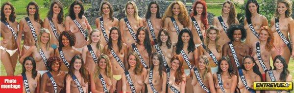 Exclu: Les candidates de Miss France 2012 nues !