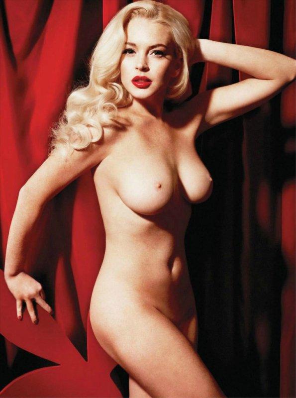 Lindsay Lohan: Ses photos de nue pour Play Boy sont sur le net !