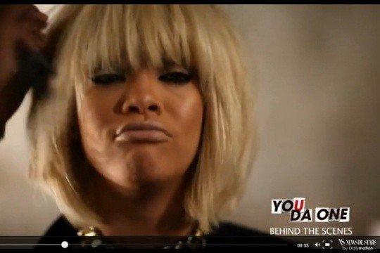 """Rihanna: Les premières images de son nouveau clip """"You Da One."""""""
