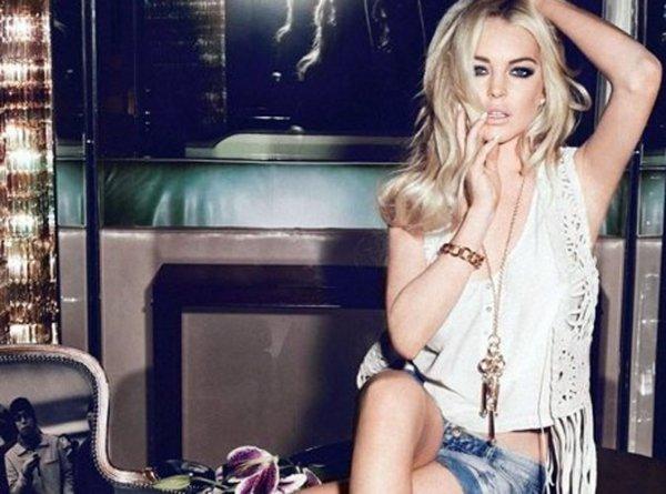 Lindsay Lohan: Nouvelle égérie de Jag Jeans !