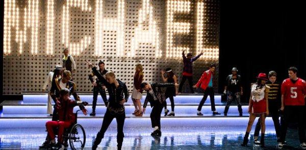 Glee: Carton d'audience grâce a l'épisode spécial Michael Jackson !