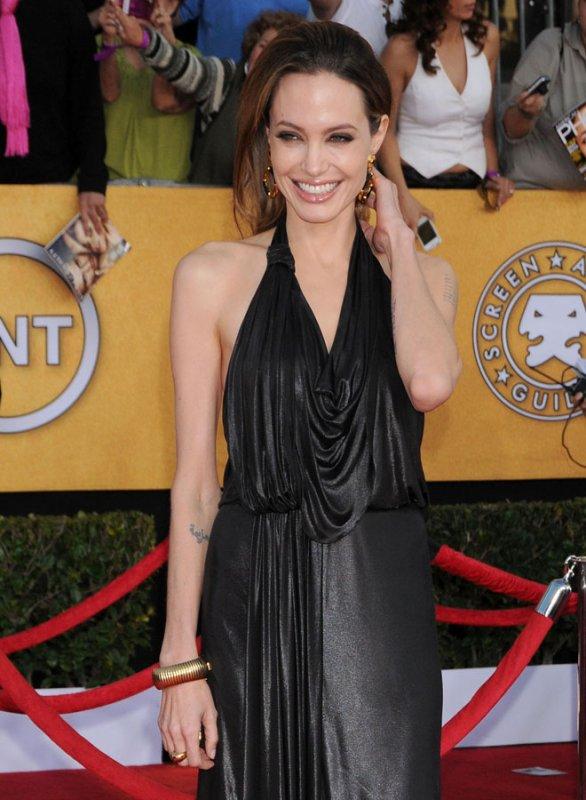 Angelina Jolie: Manger ?  Elle a autre chose à faire !
