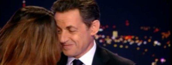 Carla Bruni et Nicolas Sarkozy : Les images  filmés à leur insu au 20h de TF1