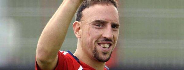 Franck Ribéry: Il est le sportif français le mieux payé en 2011 avec 11,4 millions d'euros