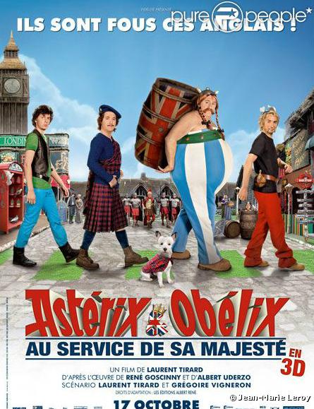 Astérix et Obélix : Au service de Sa Majesté  en 3D sortira le 17 Octobre 2012