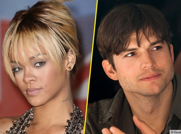 Rihanna et Ashton Kutcher: ils seraient en couple depuis 8 semaines !