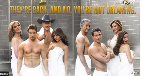 Dallas: Découvrez la première affiche sexy pour le retours de serie culte