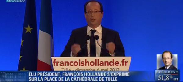 François Hollande : retrouvez des extraits de son discours !